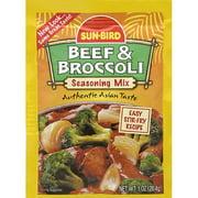 Sun-Bird Beef & Broccoli Seasoning Mix, 1 oz, (Pack of 24)