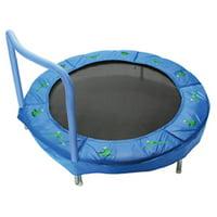 JumpKing Trampoline 4-Foot Bouncer for Kids, Blue Frog