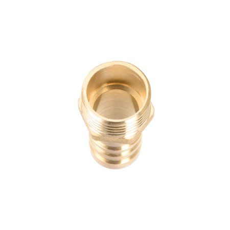 """Brass Barb Hose Fitting Connector Adapter 16mm Barbed x 1/2"""" G Male Pipe 2pcs - image 3 of 4"""