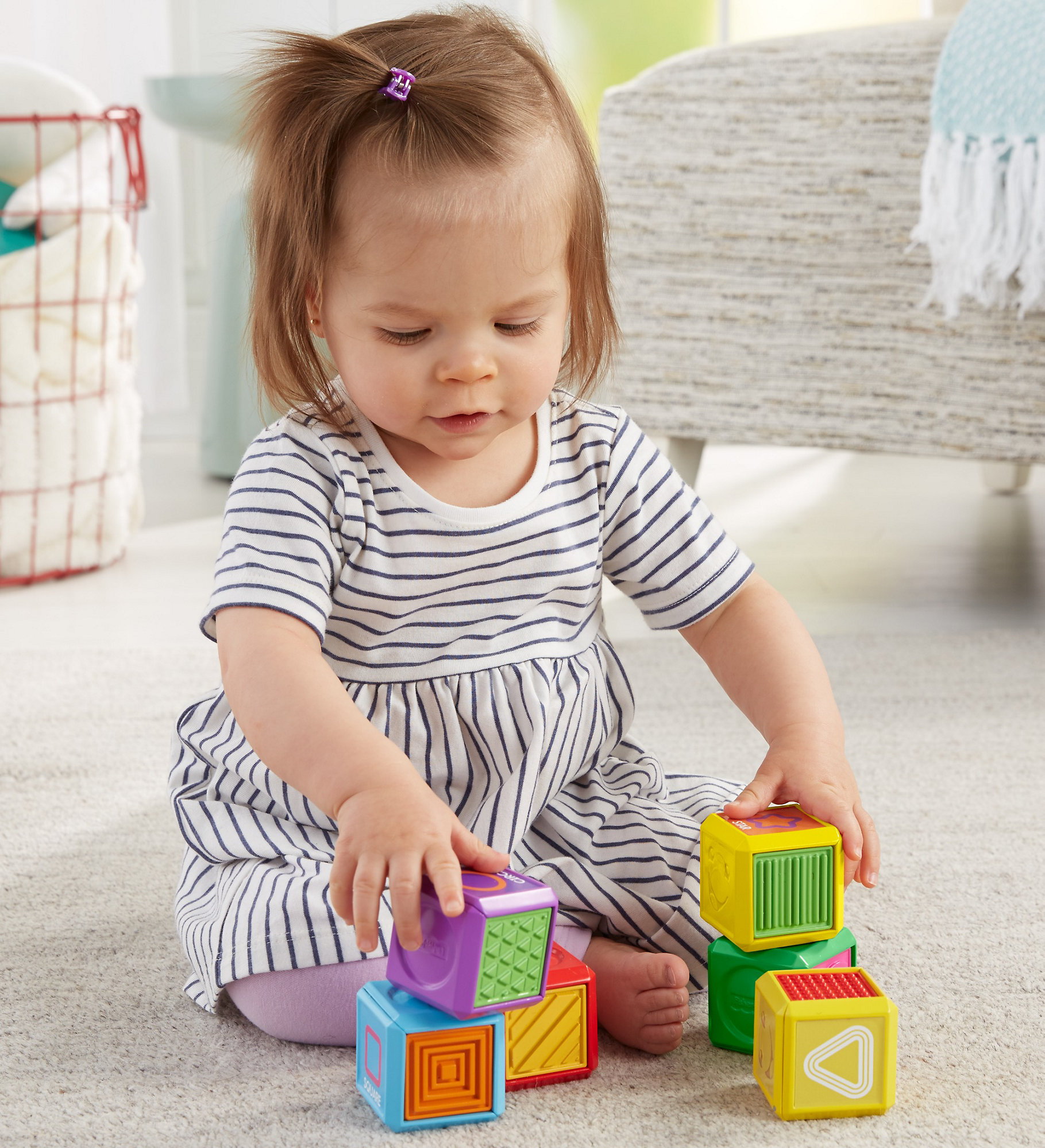 Fisher Price Laugh & Learn First Words Shape Blocks by Fisher-Price Laugh %26 Learn