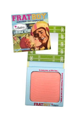 theBalm Frat Boy Blush Matte, Peachy Apricot, 0.3 Oz