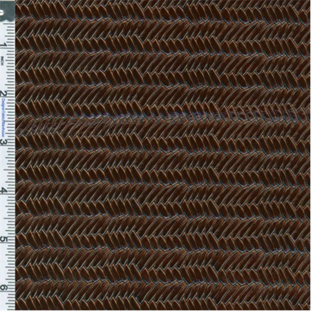 Tortoise Shell Herringbone Patent Leather Upholstery Fabric By The Yard