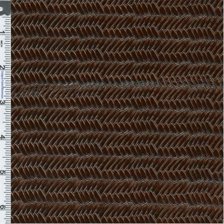 Tortoise Shell Mix - Tortoise Shell Herringbone Patent Leather Upholstery Fabric, Fabric By the Yard