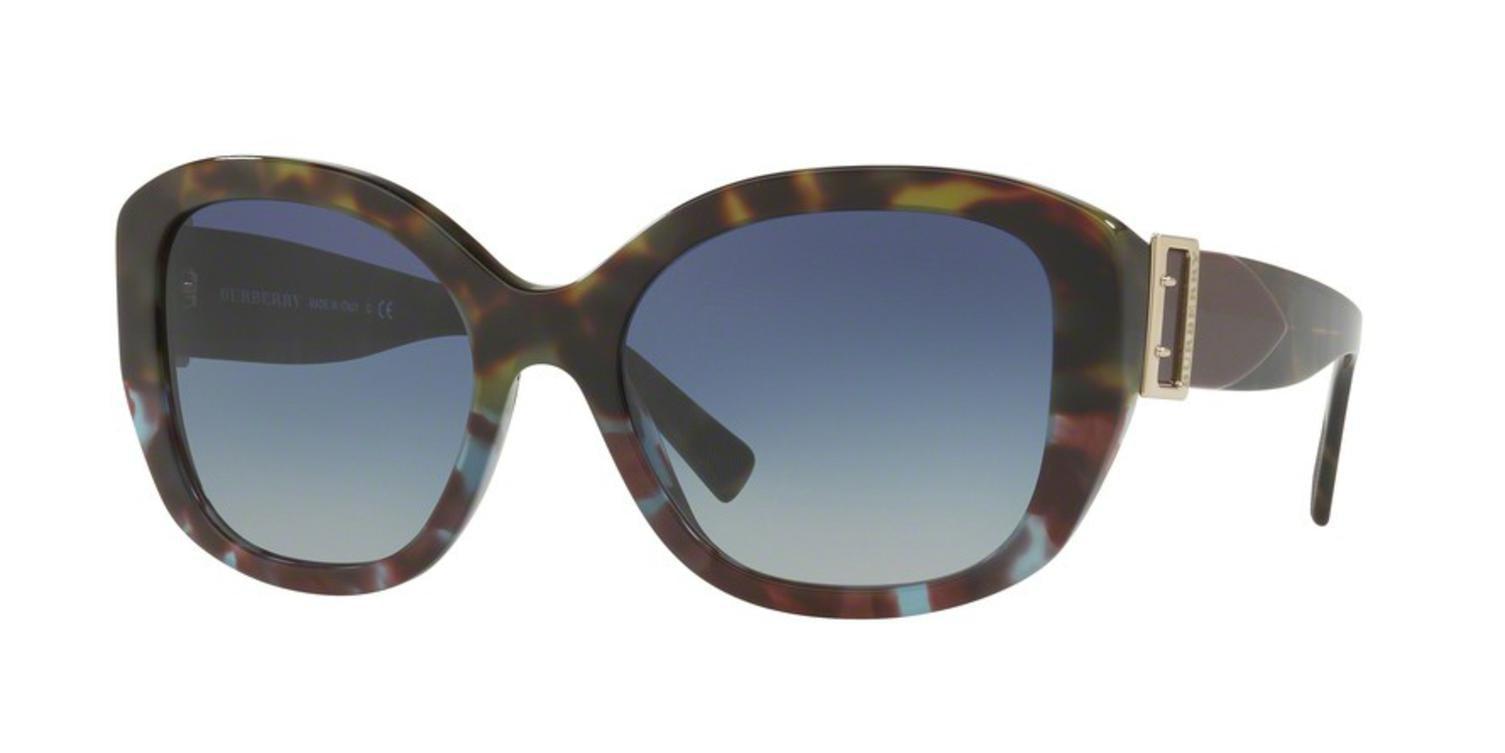 Gafas de azul para blueegradient Burberry Havana 0be4248 Verde sol 36364l mujer 57 Havana rrTxwfF