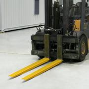VEVOR Fork Extensions, 72 inch Length Pallet Fork Extensions, 4.5 inch Width Forklift Extensions, Heavy Duty Steel Pallet Forklift Extensions, 1 Pair for Forklift Lift Truck Forklift Loaders