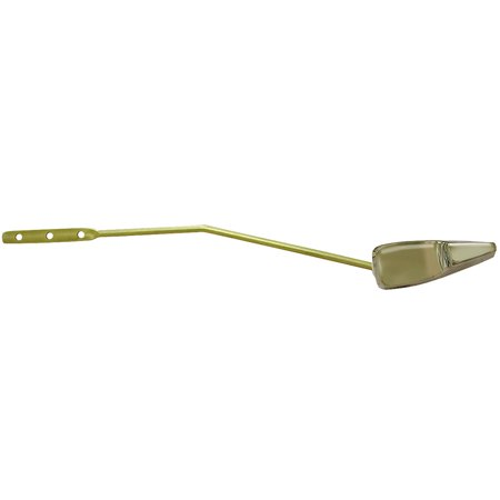 Chrome Plated Tank Trip Lever for Mansfield Metal #42 Brass Arm with Plastic Sp - Mansfield Trip Lever