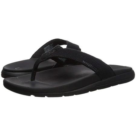 UGG Men's Tenoch Hyperweave Flip-Flop, Black, Size 13.0 ()