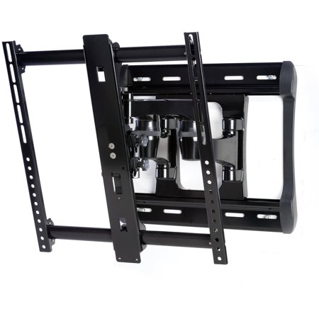SANUS All-Weather Full-Motion Wall Mount Dual Extension Arms for 42″-84″ Flat-Panel TVs, Extends 20″