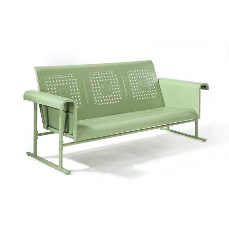 Crosley Furniture Veranda Sofa Glider In Oasis Green ()