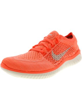 Nike Women's Free Rn Flyknit 2018 Crimson Pulse / Sail Ankle-High Running Shoe - 9M