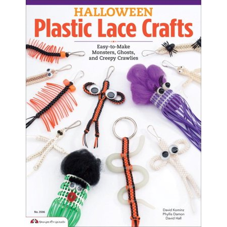 Halloween Plastic Lace Crafts: Easy-to-Make Monsters, Ghosts, and Creepy Crawlies](Creepy Halloween 1900)