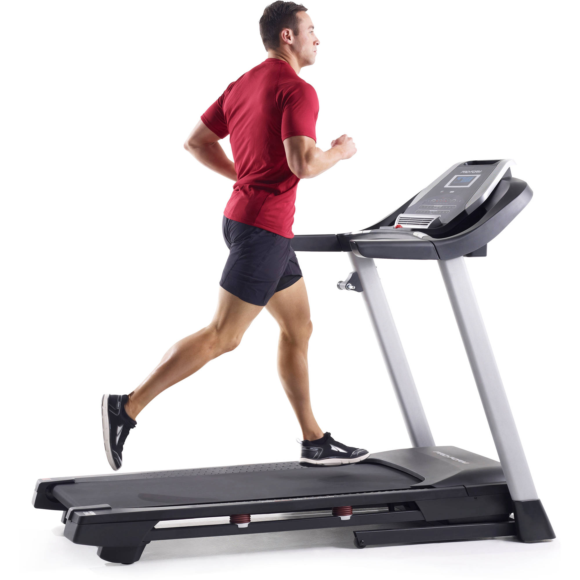 ProForm 520 ZNi Folding Treadmill with Power Incline and Audio System