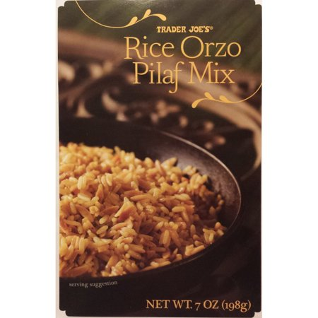 Trader Joe's Rice Orzo Pilaf Mix 7oz (Rice Orzo)