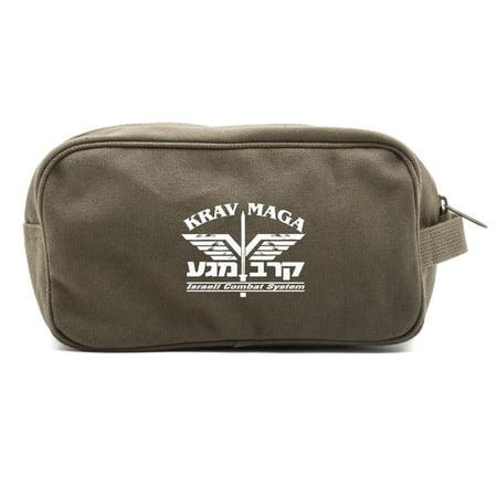 Krav Maga Israeli Combat System Martial Arts Shower Kit Travel Toiletry Bag