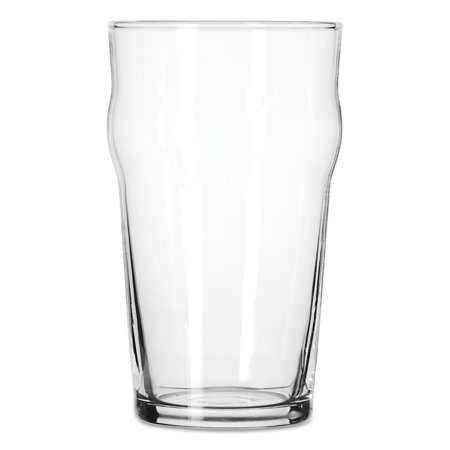 Libbey English Pub Glasses, 20 oz, Clear