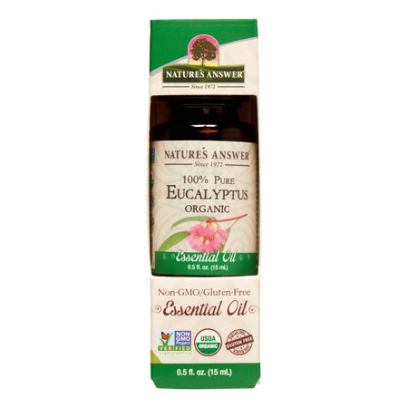 (2 Pack) Nature's Answer Eucalyptus Essential Oil