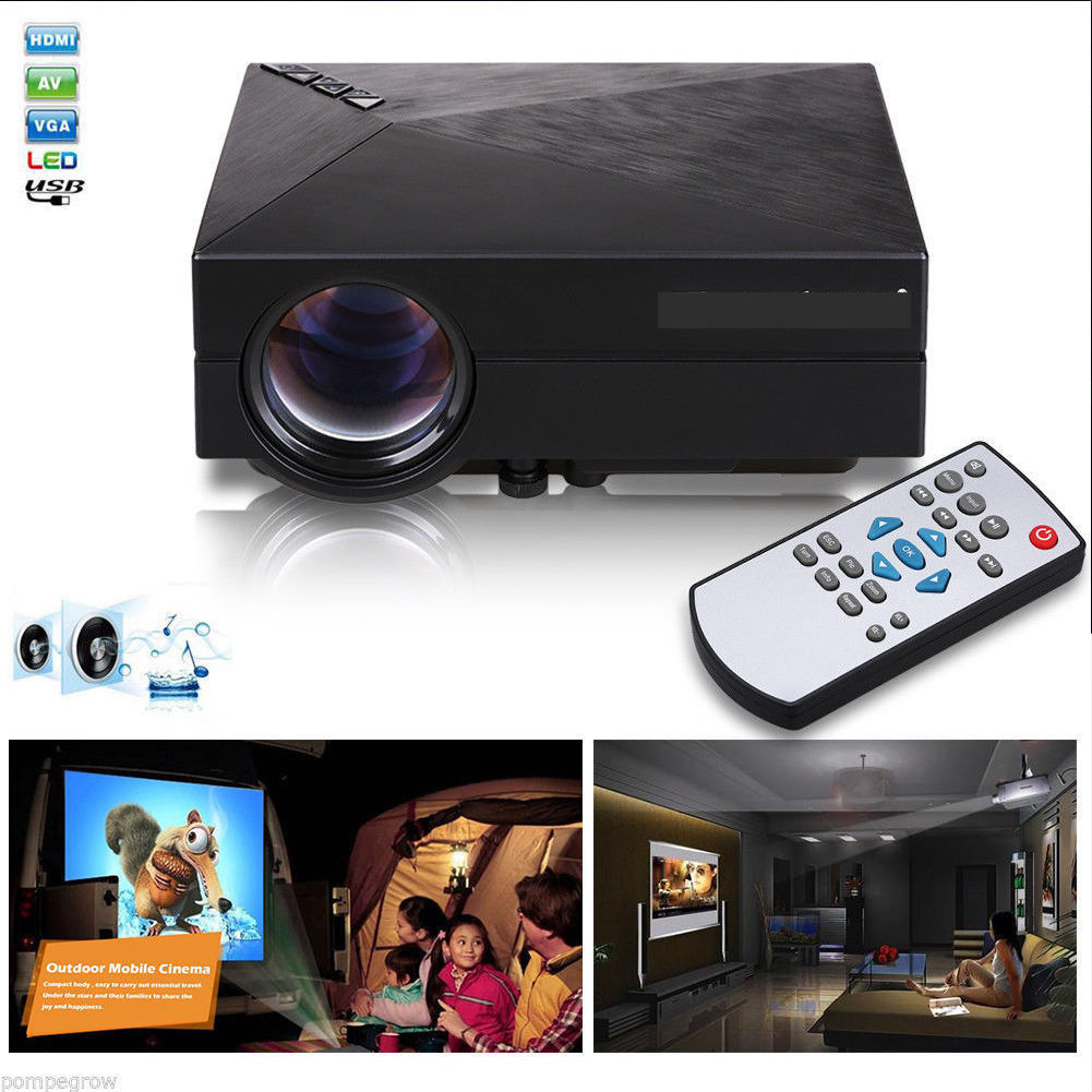 2017 On Sale Home Theater Projector 5000 Lumens HD LED Video Projector Home Cinema 3