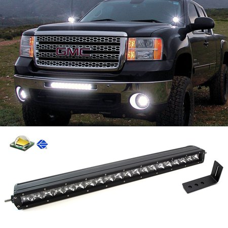 Ijdmtoy Complete Lower Bumper Grill Mount 20 100w High