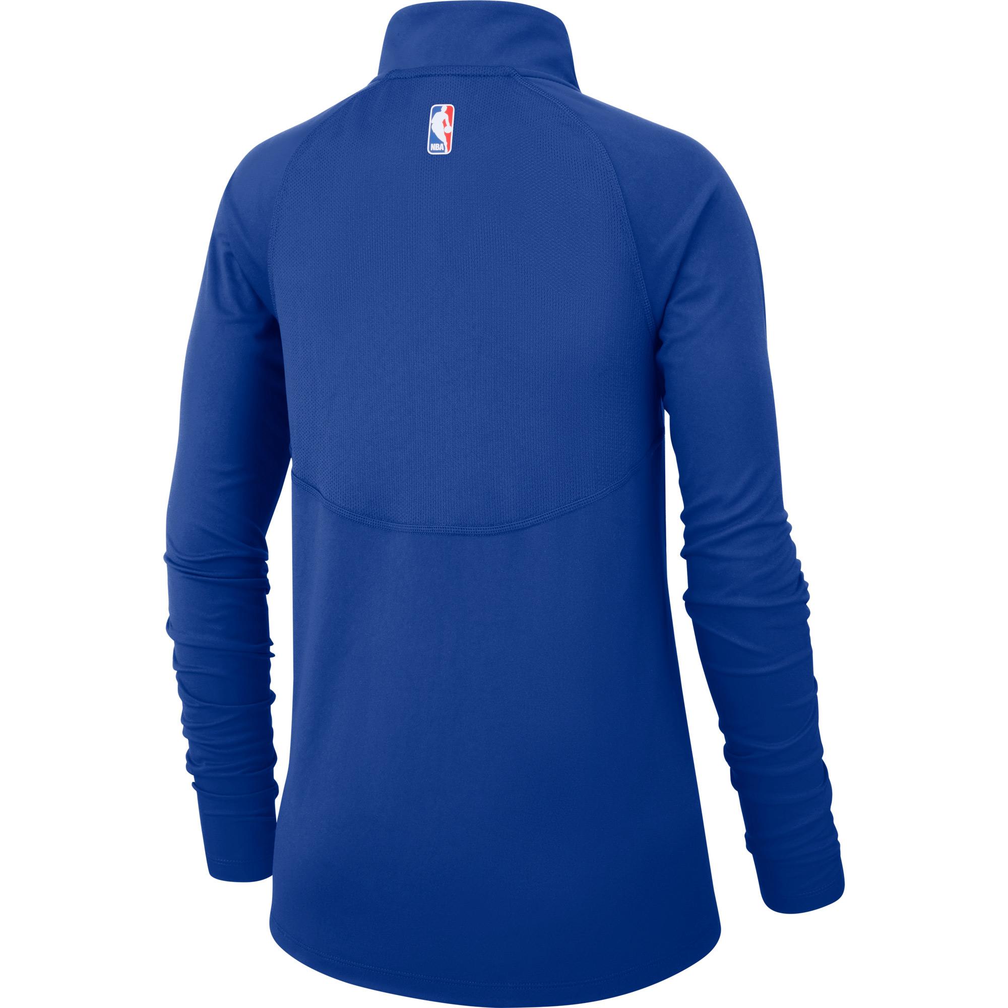 5f73c837df6d Philadelphia 76ers Nike Women s Element Performance Raglan Sleeve Half-Zip  Pullover Jacket - Royal - Walmart.com