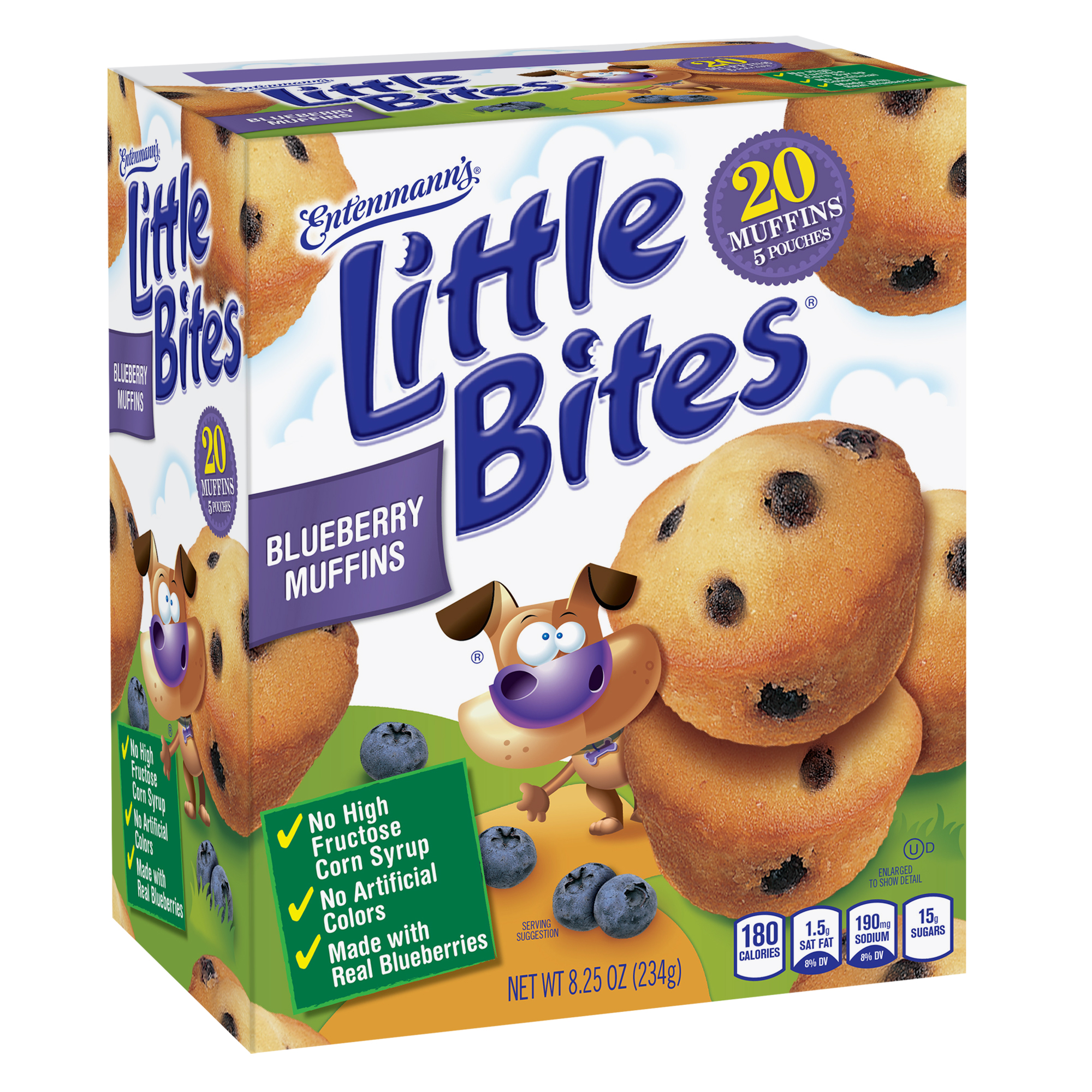 Entenmann's Little Bites Blueberry Muffin 5count