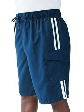 85c8ede8ae Product Image Kingsize Men's Big & Tall Double Stripe Board Shorts