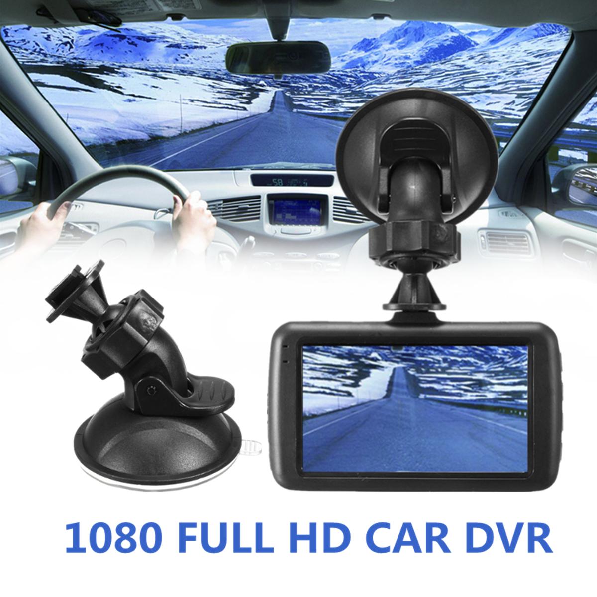 3'' LCD 1080P FHD Car Metal DVR Camera Vehicle Dash Cam Video Recorder