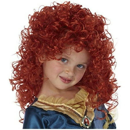 Disney Princesses Halloween Diy (Disney Princess Merida Wig)