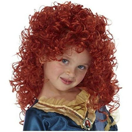 Disney Princess Merida Wig