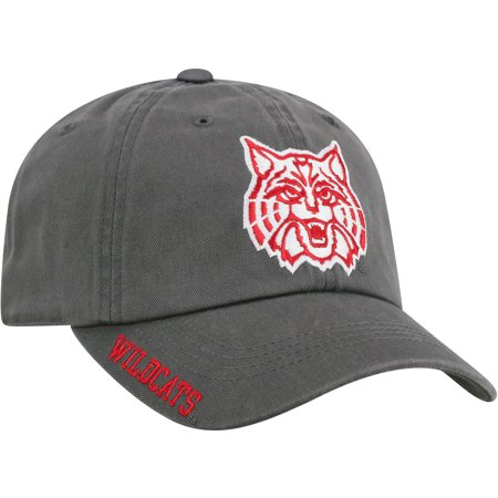 Men's Russell Charcoal Arizona Wildcats Washed Adjustable Hat - OSFA