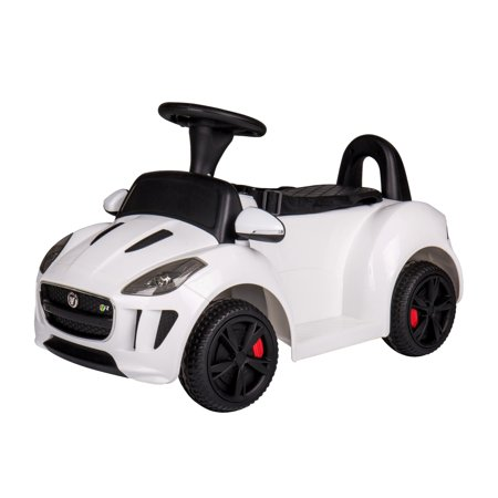 New Push car Jaguar 6V power ride on for kids Remote Control LED lights Music - (Jaguar Car All Models With Price In India)