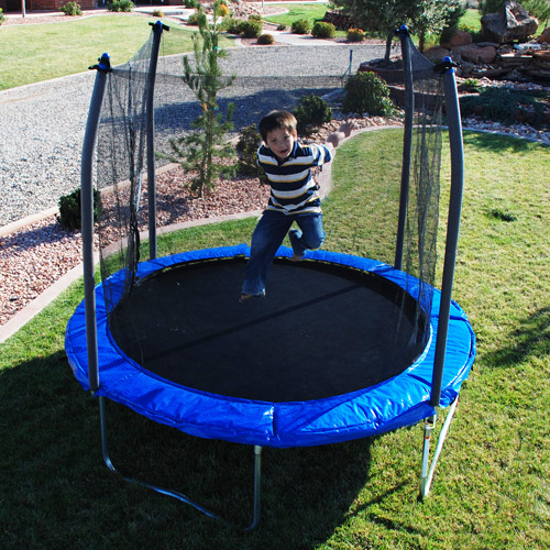 Skywalker 8' Trampoline and Safety Enclosure Combo