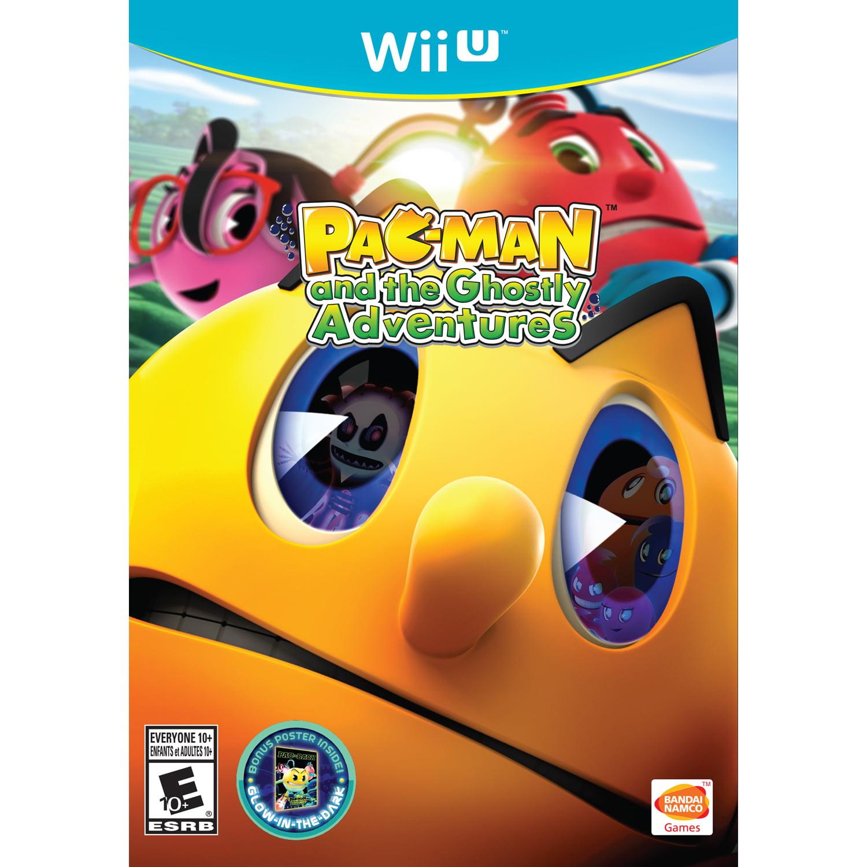 Pac-Man & The Ghostly Adventures, Bandai Namco, Nintendo Wii U, 722674810043