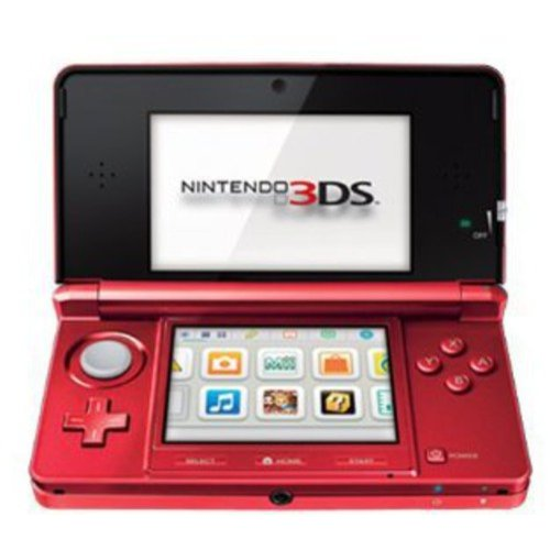 Nintendo 3DS, Flame Red (3DS)