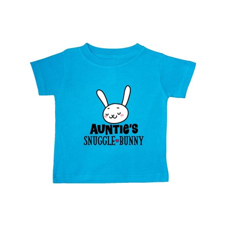 Auntie Snuggle Bunny Easter Outfit Baby T-Shirt - Easter Bunny Baby Outfit