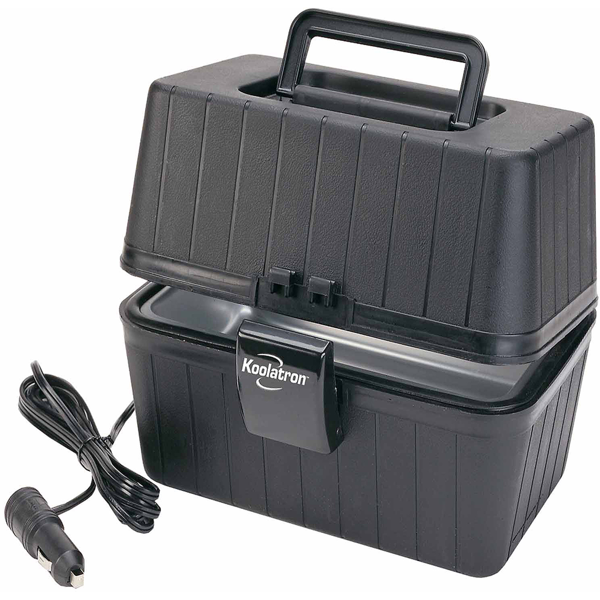 Portable Battery Heater Koolatron 12 Volt Lunch Box Stove Walmartcom