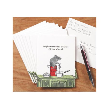 Cards Direct Promo Code (A Creature Was Stirring Mouse Holiday Greeting Cards - Set of 8 with)