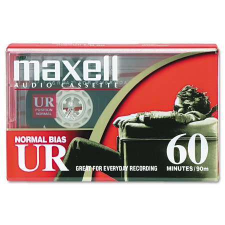 Maxell 109010 Normal Bias Audio Tapes, 60 Minutes ()