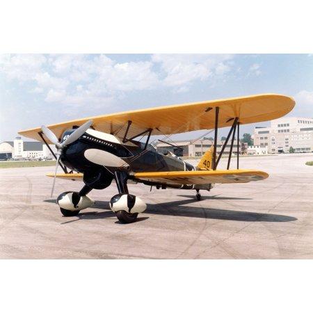 LAMINATED POSTER Curtiss P-6E Hawk at the National Museum of the United States Air Force Poster Print 24 x 36