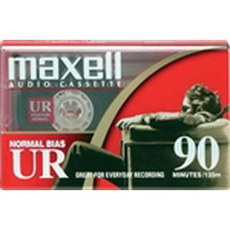 Blank Audio (Maxell Normal Bias UR 90 Blank 90-Minute Audio Cassette Tape)