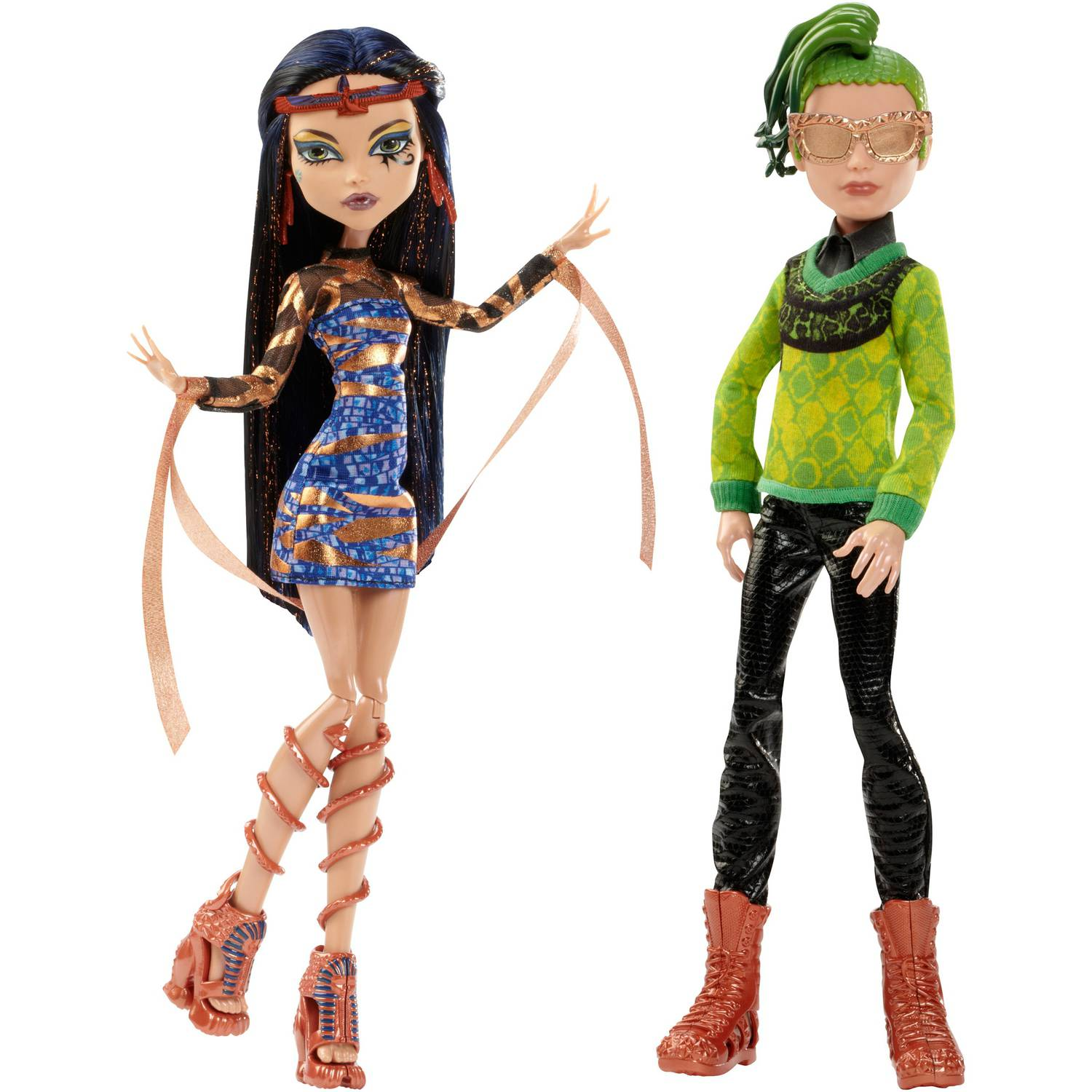 Monster Cable Boo York Cleo De Nile and Deuce Gorgon