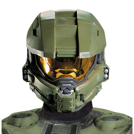 Halo 3 Master Chief 2 Piece Vacuform Mask Adult One Size