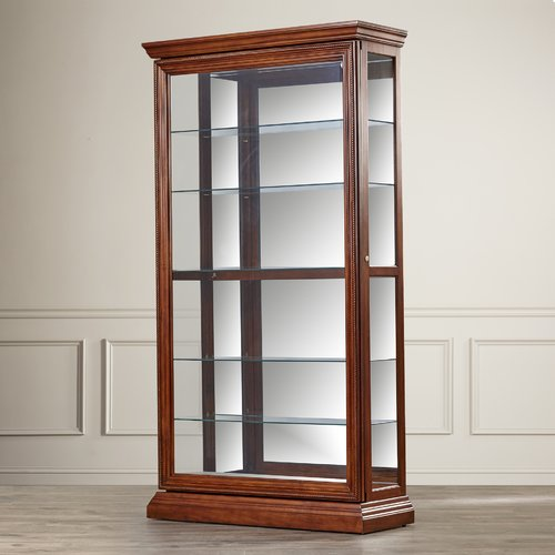 Darby Home Co Purvoche Curio Cabinet by