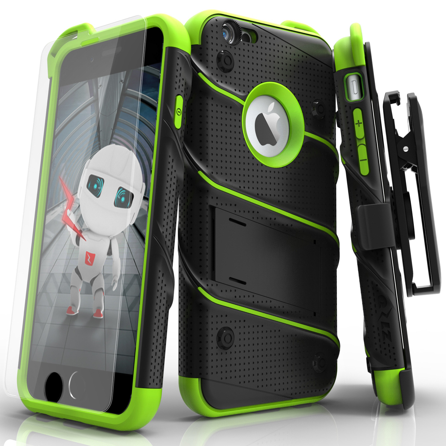 Iphone 6s Case Zizo Bolt Series With Free Iphone 6s Screen