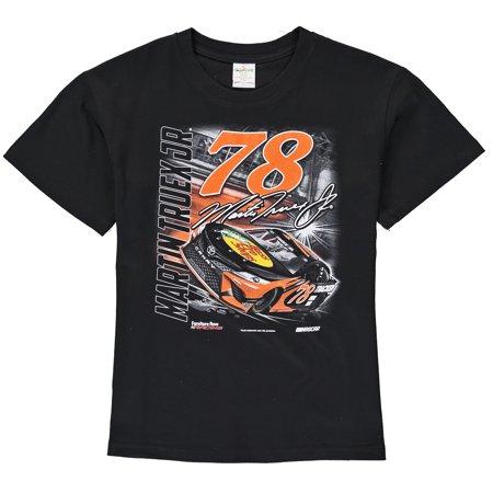 Martin Truex Jr Youth Bass Pro Shops Power T-Shirt - Black