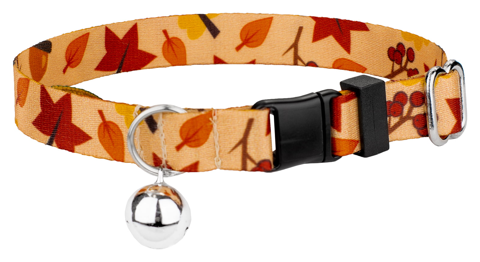 Country Brook Petz | Fall Foliage Featherweight Cat Collar by Country Brook Petz