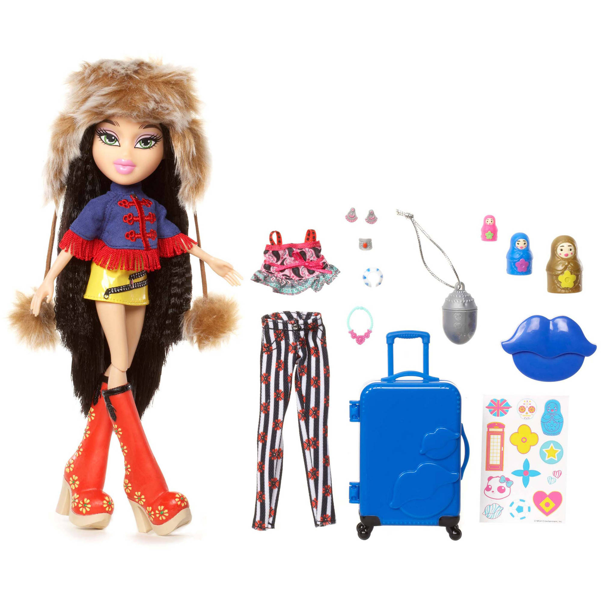 Bratz Study Abroad Doll, Jade to Russia by MGA Entertainment