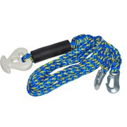 Rave Sport 1-4-Person Heavy Duty Ski and Tow Rope Harness, Blue