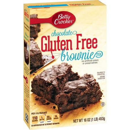 Betty Crocker Gluten Free Brownie Mix Chocolate 16 Oz Walmart