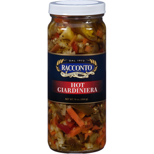 Racconto Hot Giardiniera, 16 oz, (Pack of 12)