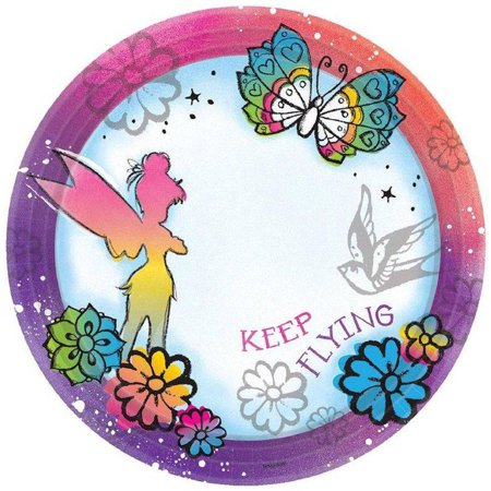 Disney Tinker Bell Dessert Plates](Tinkerbell Plates)